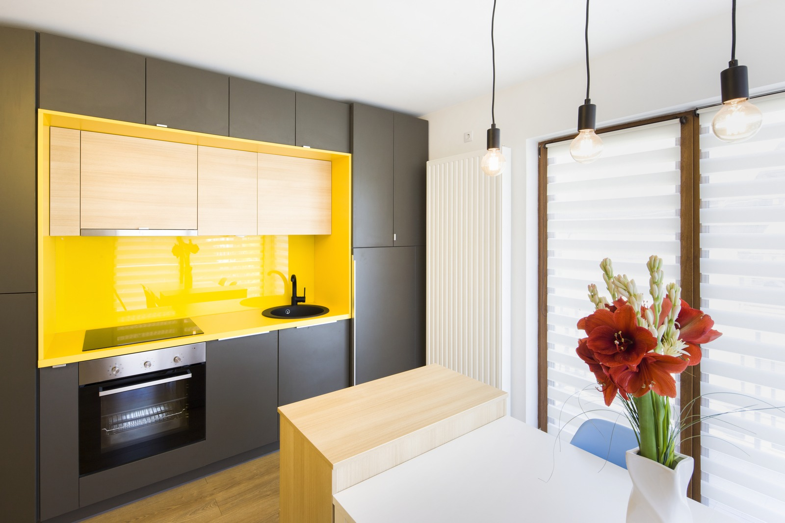 The Young Couple Owners Of This Apartment Wished For A Massive Restructure  Of Their Place. It Is A Two Room Apartment Where They Needed To Create  Actually ...
